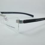 กรอบแว่นตา Porsche P8164 กรอบสีเงิน