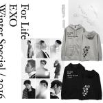 เสื้อฮูดแฟชั่นเกาหลี เสื้อแขนยาว #EXO For Life