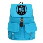 กระเป๋าสะพาย EXO XOXO สีฟ้า