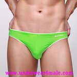 GMW Men Underwear Super Sexy Charming Comfortable Brief (Green)