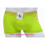 Calvin Klein Men Underwear Modal Trunk (Green)