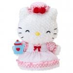 ตุ๊กตาแมร์รี่เฮลโหลคิตตี้ ชุดกระโปรงลายโทนชมพู Hello Kitty's mom family stuffed (Mary)
