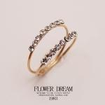 แหวนแฟชั่น Korea. เพชร