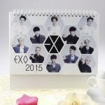 ปฎิทินตั้งโต๊ะ EXO 2015