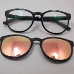 แว่นตากรองแสงคอมพิวเตอร์+คลิปออนแม่เหล็กเลนส์กันแดด 03