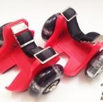 รองเท้ามีล้อ แฟลชชิ่งโรลเลอร์สีแดง รหัส FRR