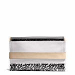 Pre-Order Coach BLEECKER CLUTCH IN MIXED MEDIA STYLE NO. 30162