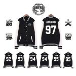 เสื้อเบสบอล เสื้อคลุม เสื้อแขนยาว เสื้อกันหนาว BTS (ระบุศิลปิน + ไซส์ )