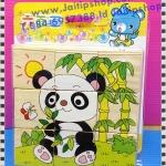 จิ๊กซอลูกเต๋า 6 ด้าน 1 ชุด 6 ภาพ (ชุดหมีแพนด้า)