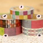 ANGOO Masking Tape (PATTERN)