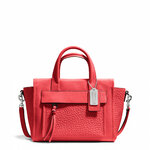 Pre-Order Coach BLEECKER MINI RILEY CARRYALL IN LEATHER STYLE NO. 27923