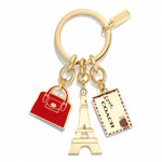Pre-order Coach PARIS MIX KEY RING STYLE NO. 66342