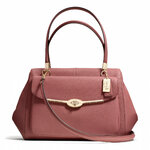 Pre-Order Coach MADISON MADELINE EAST/WEST SATCHEL IN SAFFIANO LEATHER STYLE NO. 27854