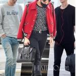 เสื้อแฟชั่น เสื้อคลุม เสื้อแจ็คเก็ต  BIGBANG GD 2014 สีแดง