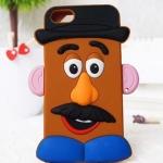 เคสไอโฟน5 / 5s มิสเตอร์โปเตโต้เฮด ซิลิโคน 3D แนวๆ mr.potato head toy story Silicone 3D
