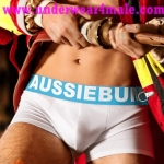 AussieBum Men Underwear Flame Steam Trunk