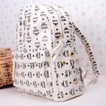 กระเป๋าแฟชั่น(สีขาว)MCM