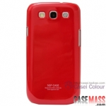 Case S3 Case Samsung Galaxy S3 i9300 เคสสีพื้น สีหวานๆ เงาๆ สวยๆ piano paint cell phone protective cover shell