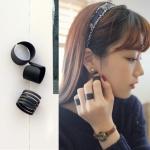 ชุดแหวนประดับสไตล์เกาหลี
