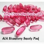 วิตามินเร่งขาว สูตรเบอรี่ ALA Strawberry Sweety Pink
