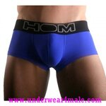 HOM Men Underwear Sport Boxer Brief Color Therapy (Dark Blue)