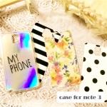 เคส note 3 Case Samsung Galaxy note 3 เคสโปร่งใสพร้อมลายดอกไม้แสนหงานสามารถปรับเปลี่ยนได้ ราคาส่ง ขายถูกสุดๆ