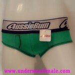 AussieBum Men Underwear Lighting Max Brief (Green)