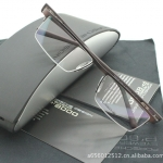 กรอบแว่นตา PORSCHE P9048 กรอบดำขาเทา