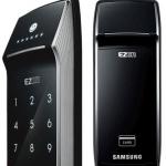 กลอนประตูดิจิตอล Samsung SHS-2621 Remote (รหัส-การ์ด) สินค้านำเข้าจากประเทศเกาหลี