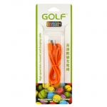 Golf สายชาร์จ Micro USB (Golf Micro USB Charging Cable) สีส้ม