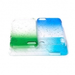 Plastic rain drops case for ipod touch 5