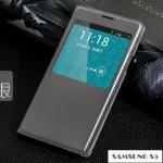 เคสซัมซุง S5 Case Samsung Galaxy S5 เคสหนังฝาพับข้าง โชว์หน้าจอ หนังมันมันเงา สวยๆ เท่ๆ
