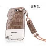 Case Samsung Galaxy Note 2 KASHIDUN เคสหนังจระเข้ เงาๆ แบบซอง โชว์หน้าจอแบบเต็ม สีสดๆ สวยๆ หรูๆ เคสมือถือ ขายส่ง ราคาถูก