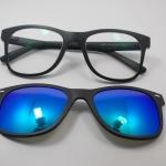 แว่นตากรองแสงคอมพิวเตอร์+คลิปออนแม่เหล็กเลนส์กันแดด 02