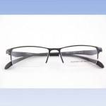 กรอบแว่นตา Porsche P9111 กรอบสีเทาดำ 55-17-145