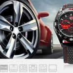 นาฬิกาข้อมือชายแฟชั่น Shank Sport watch SH080