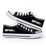 รองเท้าผ้าใบ 2PM สีดำ