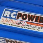 RC-POWER Li-Fe 2100 mAh 3S1P 9.9v 30c Flat type