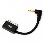 FiiO L9 สาย Dock to mini (AUX) สำหรับ iPod/iPad/iPhone [ยาว 6 CM]