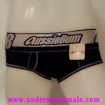 AussieBum Men Underwear Lighting Max Brief (Black)