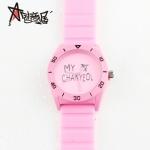 นาฬิกา EXO CHANYEOL (กันน้ำ) สีชมพู