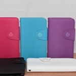 Color Filp leather case for OPPO R811 Melody