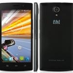 โทรศัพท์มือถือ ThL L969 4G LTE Android 4.4 Smartphone จอ 5.0 นิ้ว สีดำ**แถมฟรี Original filp case**
