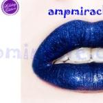 Lime Crime Gloss สี Loop-de-Loop Glitter lip gloss สีฟ้าน้ำเงินพร้อมกลิตเตอร์แวววับ ลิปกลอสกลิ่นหอมหวาน เม็ดสีแน่นๆ ^^พร้อมส่ง^^