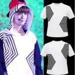 เสื้อแขนสั้น EXO The Lost Planet in Seoul Concert สีขาว (สกรีนบนล่าง)