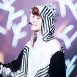 เสื้อฮู้ดแขนยาว EXO The Lost Planet in Seoul Concert สีขาว