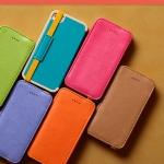 เคส iphone 4 เคสไอโฟน4s เคสหนังฝาพับ สีสวย ดีไซน์เก๋ๆ