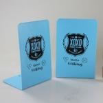 ฉากคั่นหนังสือ Bookend EXO XOXO (สีฟ้า)