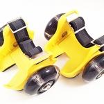 รองเท้ามีล้อ แฟลชชิ่งโรลเลอร์สีเหลือง รหัส FRY