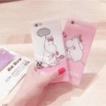 Case iPhone 6s Plus / 6 Plus (5.5 นิ้ว) พลาสติกลายการ์ตูนสีพาสเทลน่ารักสดใส ราคาถูก